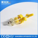 Kd304 siringhe d'acciaio di plastica Tpx