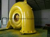 フランシス島の水力電気のタービン装置の中型ヘッド(20-50メートル) Hvの中型容量2~8MW/Hydroturbine/水タービン