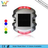 Vite prigioniera solare di alluminio della strada LED del riflettore rosso dell'indicatore luminoso 3m dell'occhio di gatto