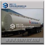 3 assi 35000L-60000L Oil Tank Semi Trailer (per il trasporto benzina, combustibile, petrolio, del liquido chimico)