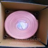 Pfannkuchen-Ring-kupfernes Gefäß für Klimaanlage