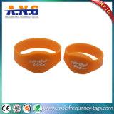 Браслеты облегченных безконтактных Wristbands прочные RFID силикона RFID