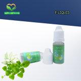 Verschiedene Flüssigkeit der Aroma-E mit verschiedenen Kapazitäts-Flaschen