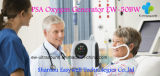 O gerador portátil Ew-50BW do concentrador do oxigênio do equipamento médico disponível da terapia de oxigênio para a cor do preto dos cuidados médicos Home livra o transporte