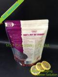 Bolso del paquete de los cacahuetes; Levantarse las bolsas con la cremallera