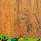 Papel decorativo de la melamina de madera del grano de la nuez