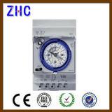 24 interruptores de tempo mecânicos eletrônicos da C.A. 230V Sul181d da escala de tempo da hora