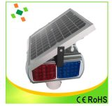 交通安全のためのストロボ太陽LEDの警報灯