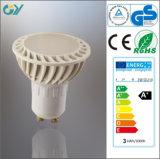 Lampe de tache du plastique 3000k 4W LED avec du CE RoHS SAA