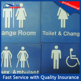 47 tipos Standard australiano Braille Signs para Toilet/Washroom/local de repouso