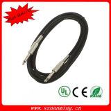 "1/4"" TRS a 6,35 mm Cables Ts Guitarra Instrumento"