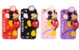 Mickeyのシリコーンの箱のForsamsungギャラクシーJ7prime J5prime J2prime携帯電話の箱(XSD-008)