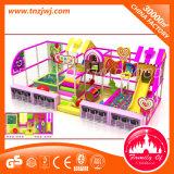 魅力的な子供の当惑の屋内運動場装置のいたずらな城