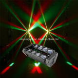 quadrilátero de 8*10W RGBW em 1 diodo emissor de luz Spider Beam Moving Head Bar DJ americano Light
