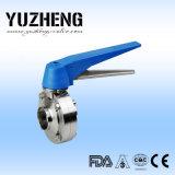 Fornitore sanitario della valvola a farfalla Dn25 di Yuzheng