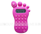 8 Digits Foot Shape Gift Calculator mit Various Optional Colors (LC517)