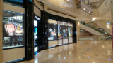 Window/Building Video Wall를 위한 P10 Fshion Glass 또는 Transparent LED Display