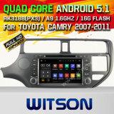 Автомобиль DVD GPS Android 5.1 Witson для KIA K3 2012 с поддержкой интернета DVR ROM WiFi 3G набора микросхем 1080P 16g (A5507)