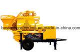Pompa mescolantesi concreta elettrica forzata Qjhbt30c-1 del rimorchio