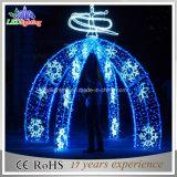Indicatore luminoso bianco esterno di motivo di festa LED della decorazione dell'arco