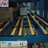 Estante de calidad standard del flujo del cartón para el sistema del tormento del almacenaje