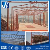 Marco de acero estructural ligero para la construcción del taller