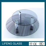 Tempered moderno Glass Top Round Custom para a sala de visitas Furnitures de Dining Tables