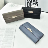 Atacado Fashion Soft PU Leather Women Wallet Sy7650