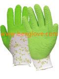 Doublure estampée de gant, gant de jardin