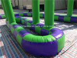 2016 im FreienNew Designed Inflatable gehen Kart Race Track für Sale