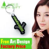도매 제조자 승진 선물 연약한 PVC 비행기 열쇠 고리