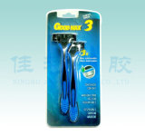 Preiswertes Disposable Razor in Blister Card (SL-3035TL)