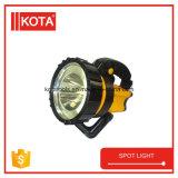 Hohe starke Energie LED ABS, die grelle heller Punkt-Taschenlampe bearbeitet
