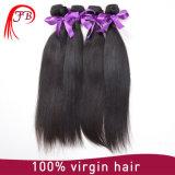 100% 처리되지 않는 Virgin 고품질 중국 인간적인 Virgin Remy 머리 씨실