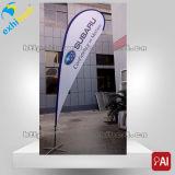 Im Freien kundenspezifische Polyesterteardrop-Fahne billig bekanntmachen