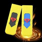 Alumbrador a prueba de viento electrónico colorido del USB del tabaquismo de la nueva manera