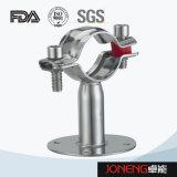 ステンレス鋼の食品加工の管ブラケット(JN-FL2008)