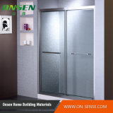 Cerco de alumínio do chuveiro da porta deslizante para o banheiro