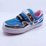 2016 de Nieuwe Schoenen van de Sport van de Kinderschoenen van de Schoenen Pu van Swquins van het Netwerk van de Schoenen van de Manier van de Meisjes van het Ontwerp Dogod Toevallige Hogere
