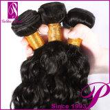 Cheveux indiens de Vierge d'extensions bouclées de cheveux humains de produits de beauté d'Inde