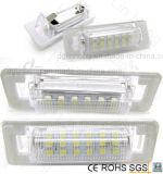 벤츠를 위한 최고 밝은 백색 Canbus LED 번호판 램프