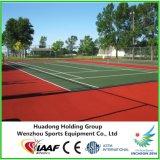 Deportes de interior/al aire libre que suelan para el suelo del campo de tenis, capa del campo de tenis