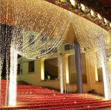 Luz de Natal da decoração da cortina da alta qualidade do diodo emissor de luz