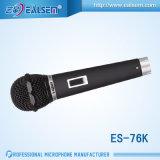 Микрофон с гиперкардиоидной характеристикой направленности провода микрофона Karaok динамический