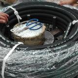 En853-2sn gewundenes Hochdruckschmieröl-flexibler hydraulischer Gummischlauch