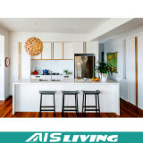 Mobília clássica luxuosa dos gabinetes de cozinha da alta qualidade (AIS-K095)