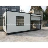 Гибк-Конструированная дом контейнера недорогой прочного дома панельного дома Prefab подвижная