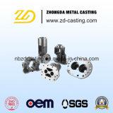 構築の機械装置部品のためのOEM CNCの機械化の鍛造材