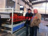 기계를 만드는 PVC 합성 수지 기와