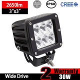 Auto LED Driving Light (3inche, Driving beam, IP68 impermeável)